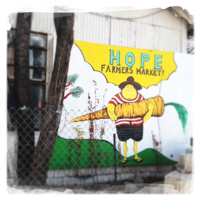 Hope farmers market