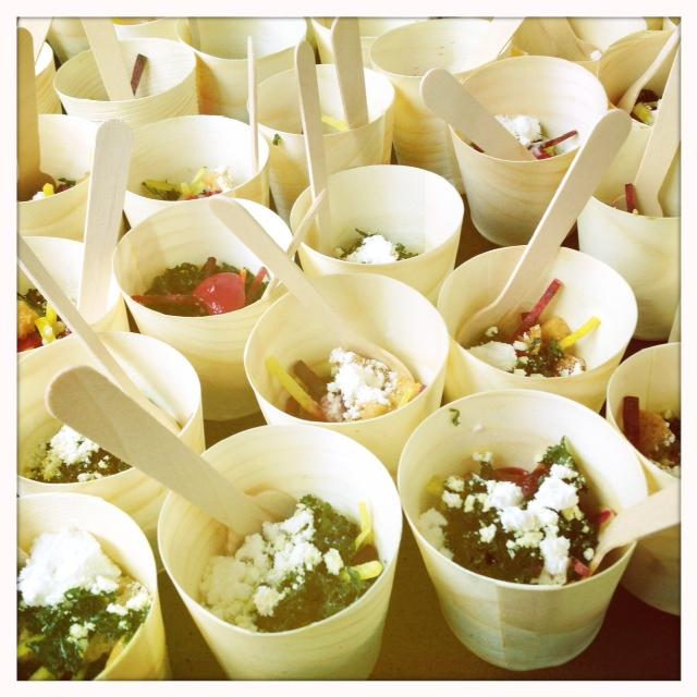 Austin food wine festival kale beet salad grand tasting