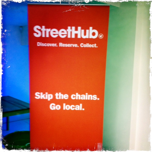 Hackney shoreditch coworking trampery go local Street Hub