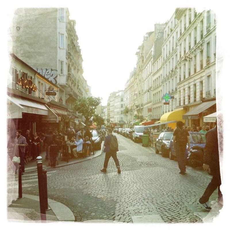 Rue des Abbesses Montmartre