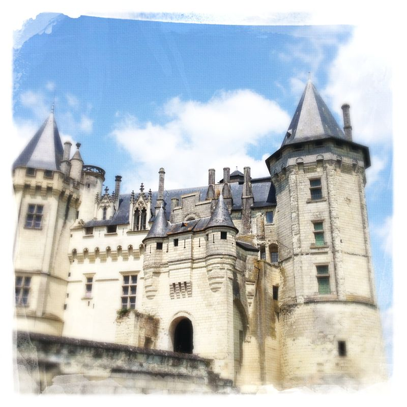 Chateau Saumur Loire Valley France
