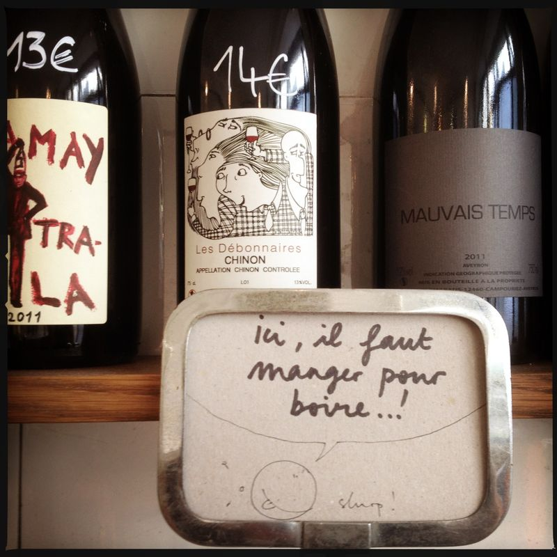 La Buvette Paris Natural Wine Bar