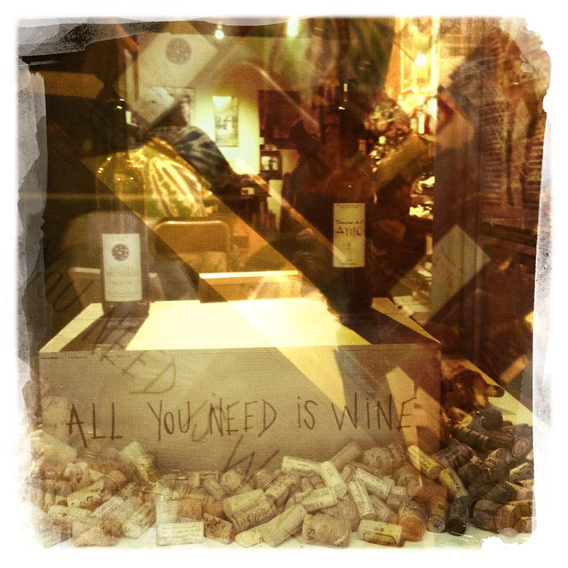 All you need is wine... Paris Ile St Louis