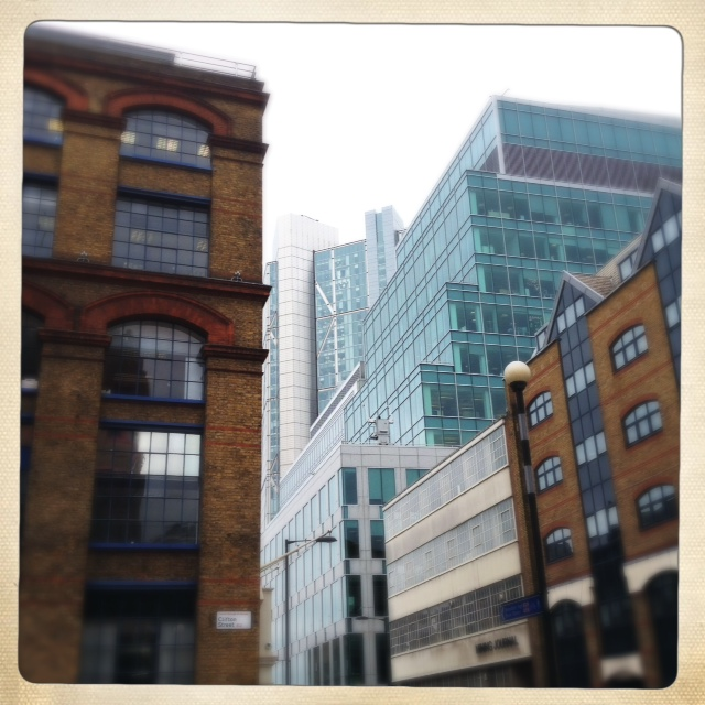 Hackney Digital Shoreditch old and new regeneration