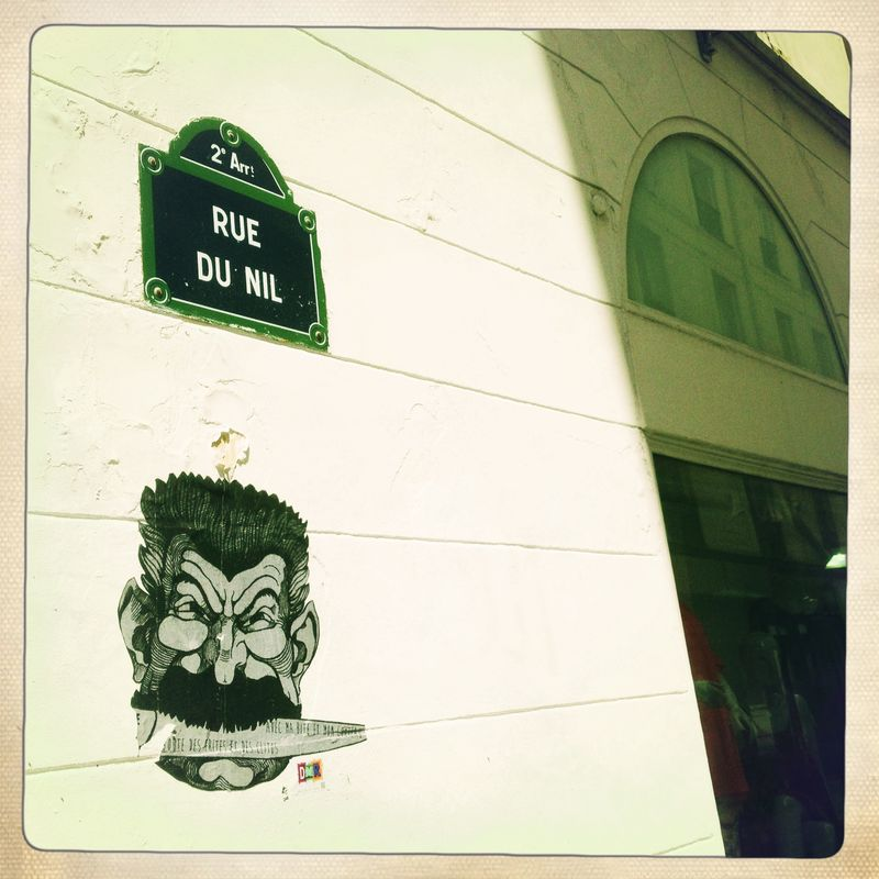 Frenchie to go rue du Nil