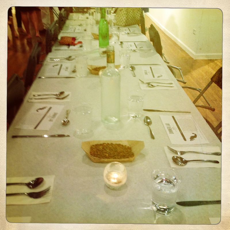 Dinner Lab Regional Mexican Cuisine the table