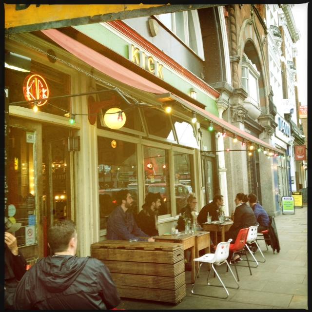 Cafe pub Hackney Digital Shoreditch regeneration