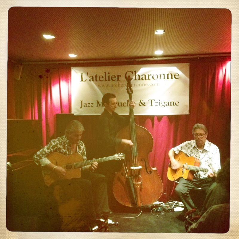Moreno l'Atelier de Charonne rue de Charonne Gypsy jazz Paris france