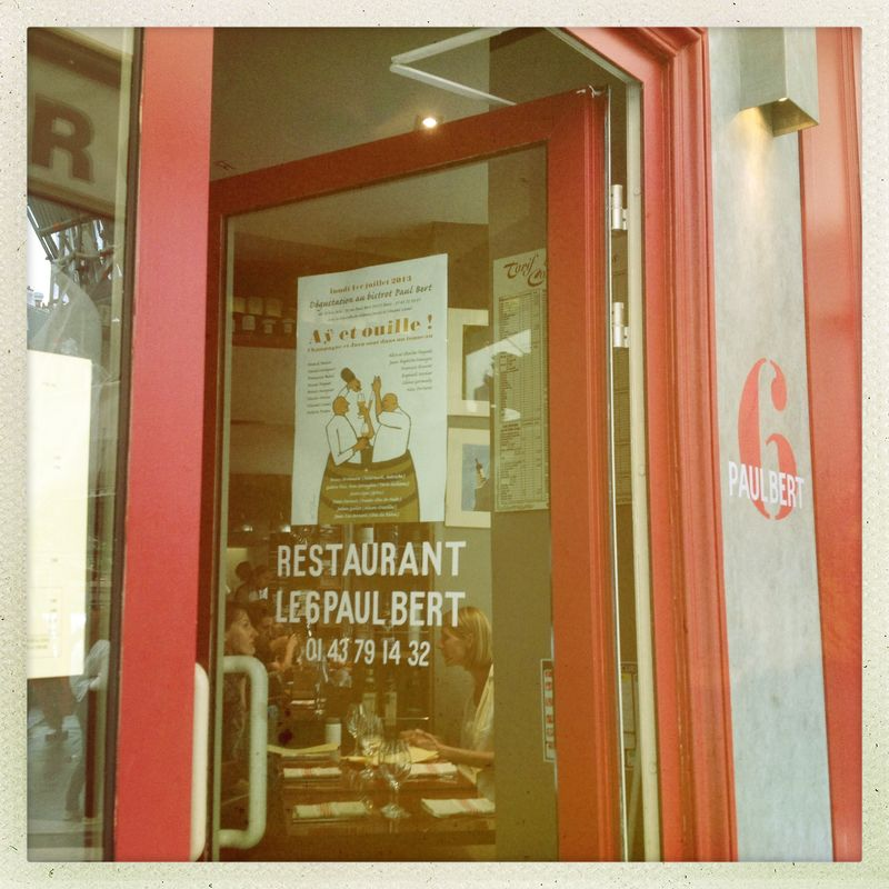 Restaurant le 6 Paul Bert Paris