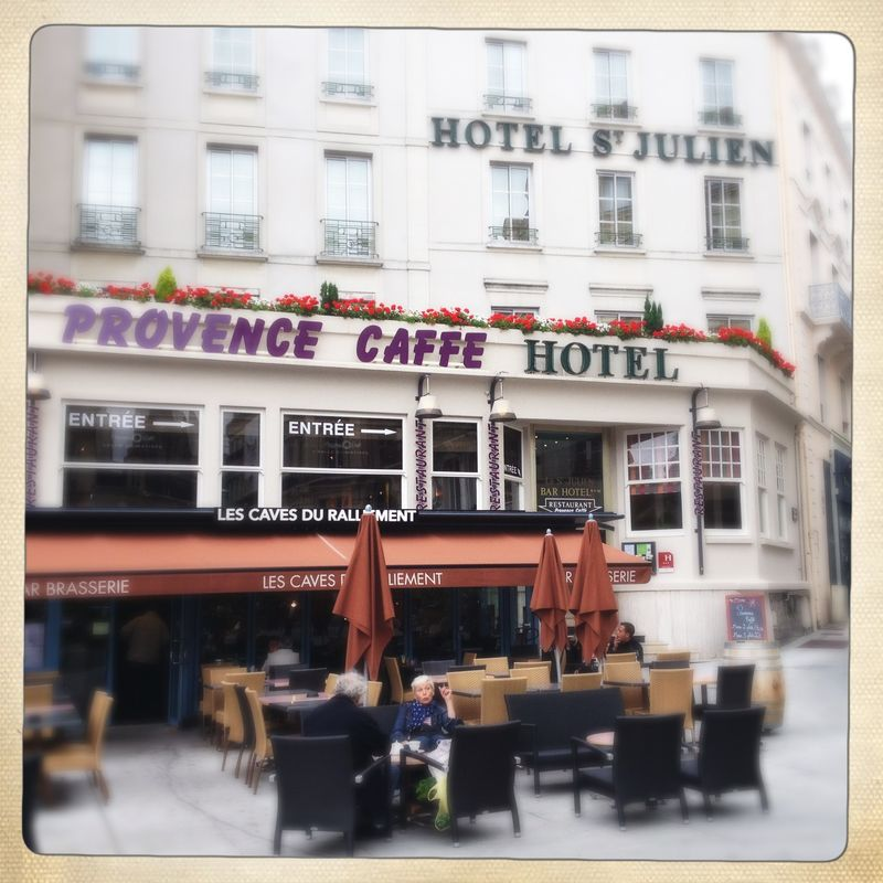 Provence Caffe Angers - where to eat in Angers France