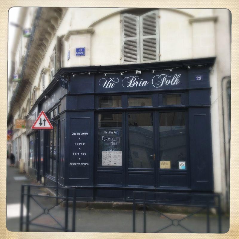Angers restaurants Un Brin Folk