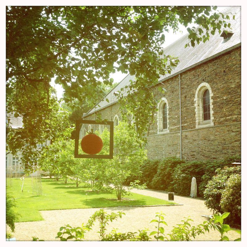 GourmandeMom GUide to Angers France Musee de la tapisserie contemporaine outdoor garden installations
