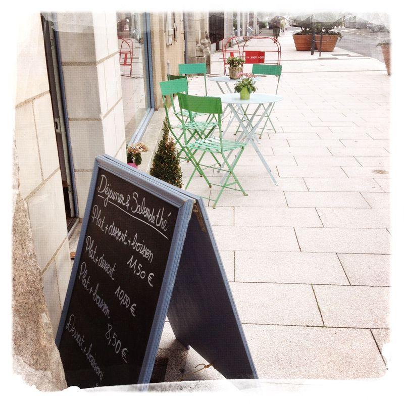 Angers Salon de The le dos de la cuillere