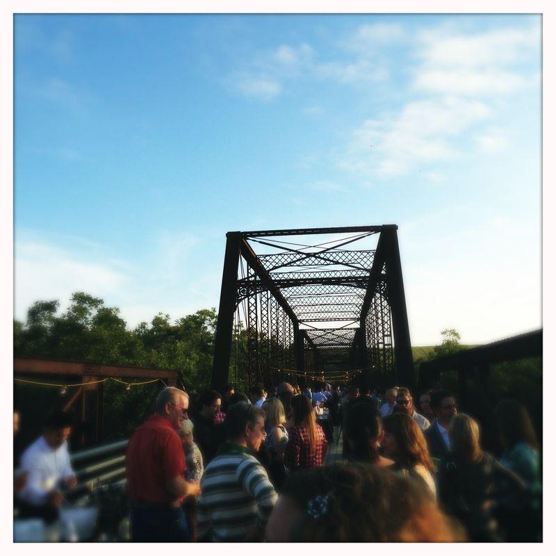 Moore's Crossing Bridge Somewhere in Time Dinner