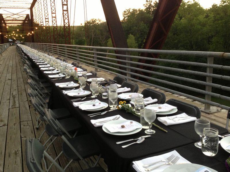 Moore's Crossing bridge dinmer light changing