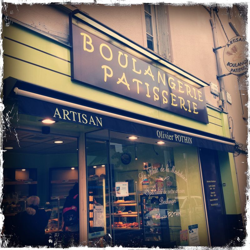 Angers boulangerie shopping