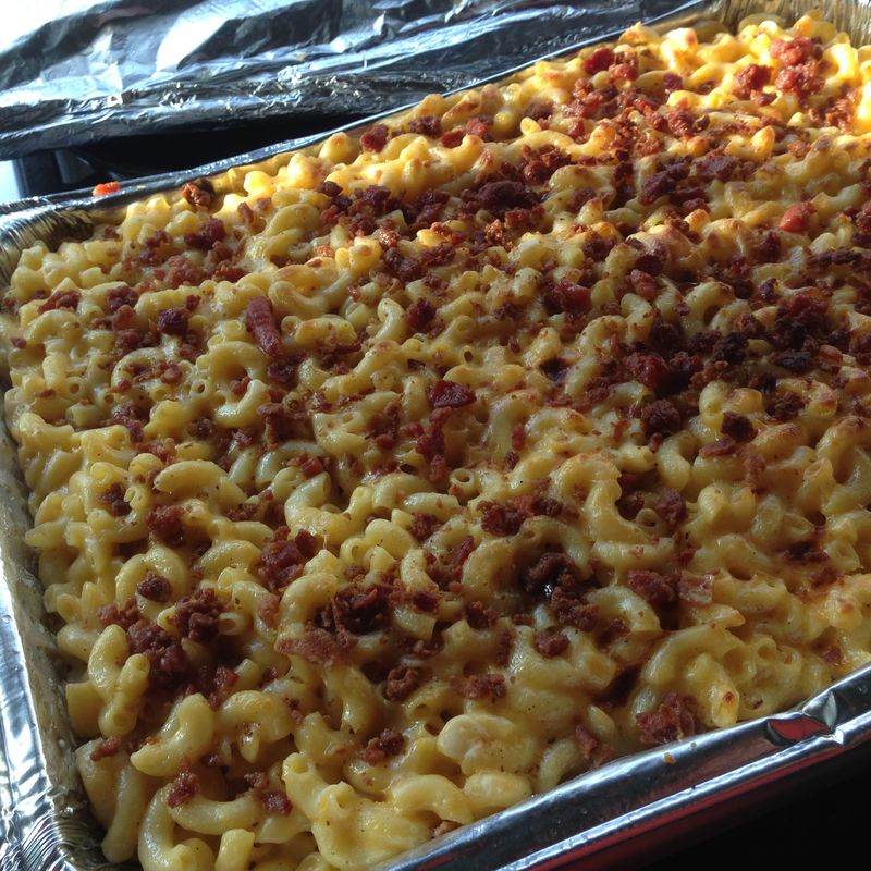 Food from the Heart Soul Food Mac and Cheese with Bacon