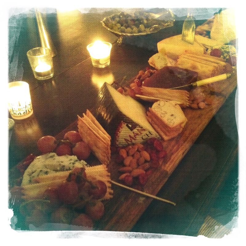 Cheese Board wood plank from Williams Sonoma