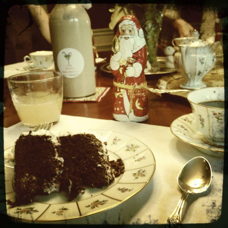 KAffeklatsch and cake