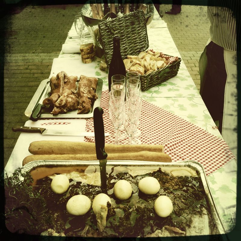 Easter - Paques Paté - Saumur Livre et Vin