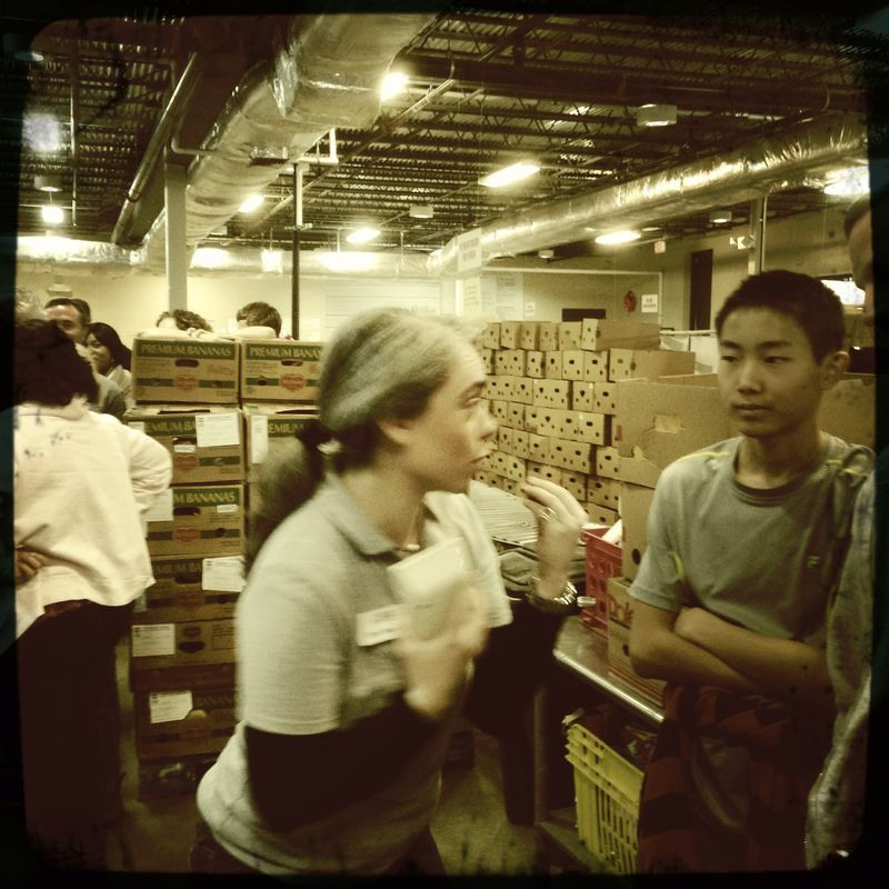 Team Awesome Youth and Family Capital Area Food Bank