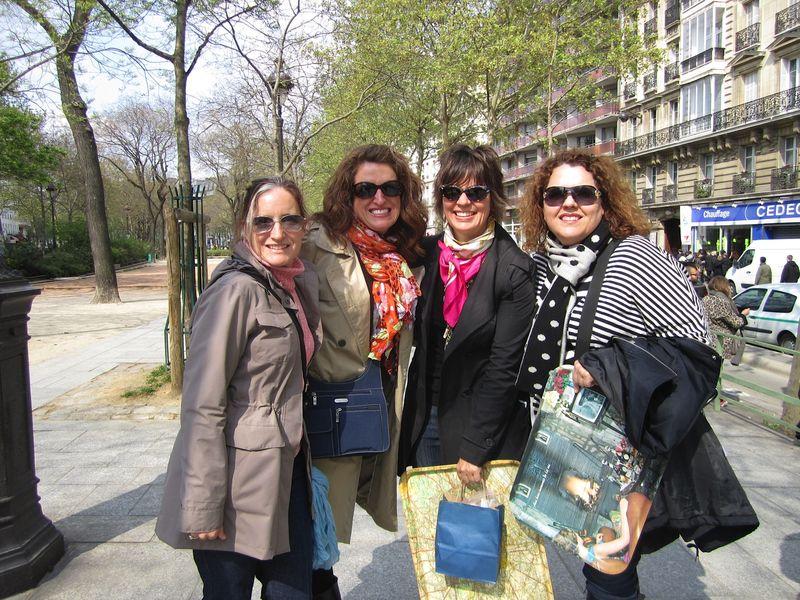 Paris Girlfriend Trip 2012