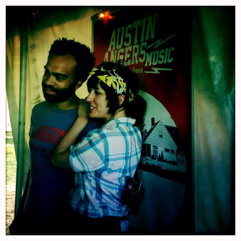 2014 PsycH Fest Austin Angers Music - Julie et Germain