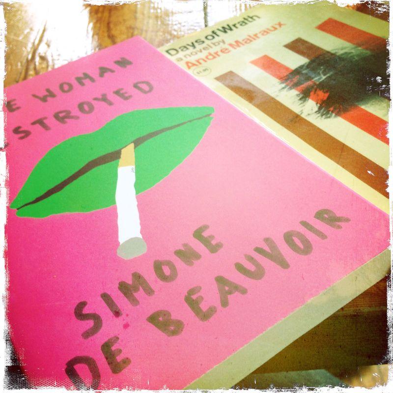 Farewell Books Simone de Beauvoir