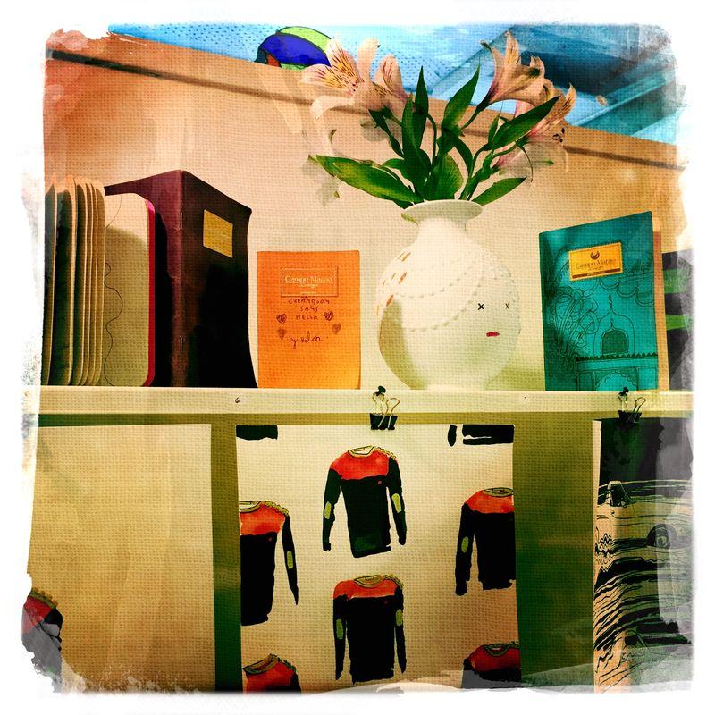 West Austin Studio Tour Shelf lesson - belen garcia mendoza
