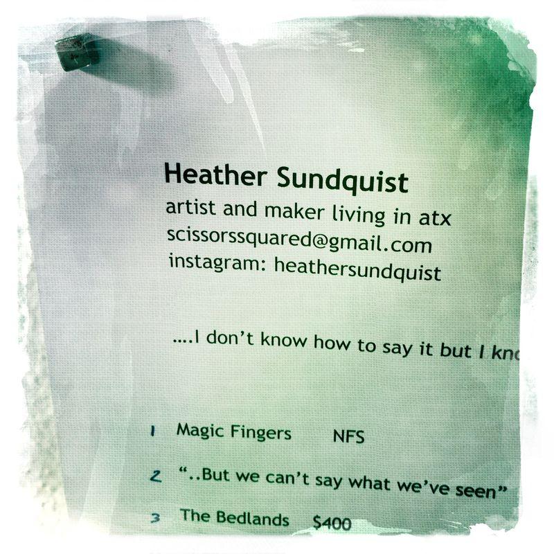 West side studio tours heather sundquist